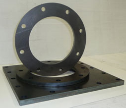An example of 16mm and 20mm Mild Steel cut for Complete Engineering
